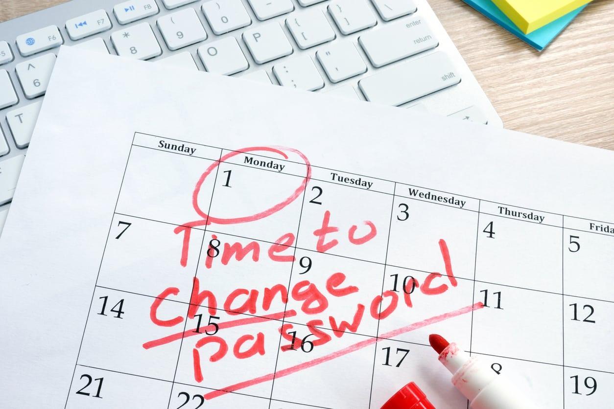 change password portal